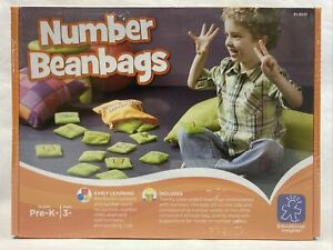 New NUMBER BEANBAGS Preschool, Homeschool EDUCATIONAL INSIGHTS Learning Toy MATH