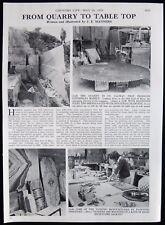 CONNEMARA MARBLE GALWAY IRELAND 10th EARL OF MAYO 1pp PHOTO ARTICLE 1979