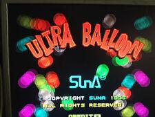 ULTRA BALLOON by SUNA  ARCADE PCB JAMMA ORIGINAL
