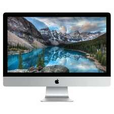 "Apple iMac 27"" Retina 5K i5 3.3GHZ,RAM 16GB,2TB  Fusion drive 2015 6 M Warranty"