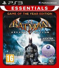 Batman Arkham Asylum GOTY Game of the year (Sony Ps3 Playstation 3 Game) New PAL