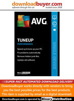 AVG PC TuneUp 2021 - 1 PC - 1 Year [Download]