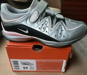 Nike Spin Trainer Plus Cycling Shoes 279743 Women's Size 8 NEW IN BOX Free Ship