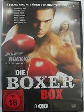 Die Boxer Box - 7 Filme Sammlung rund ums Boxen - Cassius Clay, Fight Company
