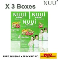 3X NUUI CTP Fiberry Platinum Ultimate Dietary Weight Loss Detox No Side Effects