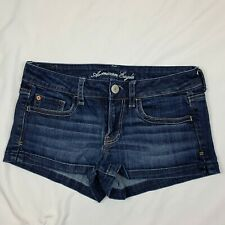 American Eagle Women's Denim Shorts Stretch  Blue size 4 Mint