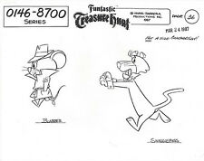 SNAGGLEPUSS ~ 4-PAGE SET OF HANNA-BARBERA MODEL SHEETS WITH MULTIPLE IMAGES