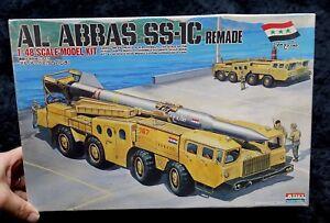 AL ABBAS SS-1C  REMADE 1/48 ARII  MODEL KIT SCUD MISSILE