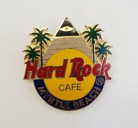 Hard Rock Cafe Classic Logo Myrtle Beach Pyramid & Palm Trees Collectors Pin