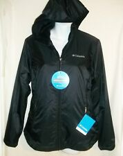 NWT Womens COLUMBIA QUEEN PASS Black Coat Jacket Size S Small