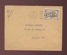 FRENCH SAHARA GAO MACHINE CANCEL 1952 AIRMAIL
