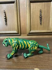 Mattel 2001 Green And Yellow Battlecat  Tiger Toy He-Man Master of the Universe