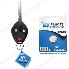 OUCG8D-620M-A Key Fob fits 2007-2011 Mitsubishi Endeavor Keyless Entry Remote 3btn w//Wide Blade Set of 2