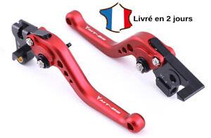 Mota Leviers d'embrayage et de frein court Neuf MT 09 et FZ 09 Aluminium Rouge