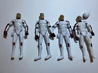 "STAR WARS CLONE WARS WALMART EXCLUSIVE TROOPER JEK Commander Thire Lot 3.75"""