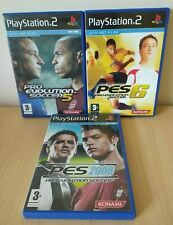 Pro Evolution Soccer 2008 & 6 & 5, PES, PlayStation 2 Games PS2 Pre-Owned