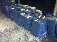 EXTRA STRONG BLUE HEAVY DUTY RUBBLE BAGS/SACKS BUILDERS WASTE 30Kg HIGH STRENGTH