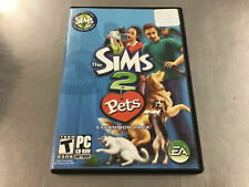 The Sims 2 Pets (Expansion Pack) PC. Great Condition. Free Fast Shipping!