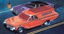 Chevrolet Sedan Delivery 1960 Street Fighter 1:24 Monogram 85 4262 Tom Daniel