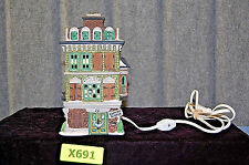 "Dickens Village Dept 56 / ""The Flat of Ebenezer Scrooge"" (#X691)"