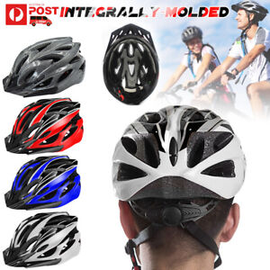 Adjustable Adult Safety Helmet Bicycle Bike Cycling Road Mountain Outdoor Sport