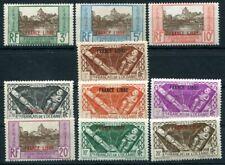 OCEANIE 1941 Yvert 140-149 ** POSTFRISCH TADELLOS FRANCE LIBRE (S5469