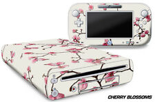 Skin Decal Wrap for Nintendo Wii U Gaming Console & Controller Sticker CHERRY