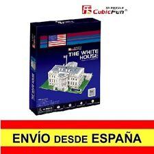 Puzzle 3D LA CASA BLANCA CubicFun Educativo Rompecabezas 65 Piezas a0083