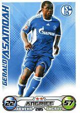 285 Gerald Asamoah - FC Schalke 04 - TOPPS Match Attax 2009/2010