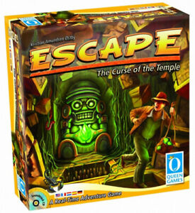 Escape Curse of The Temple Board Game. Queen Games. Free Delivery