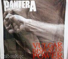 PANTERA Vulgar Display of Power HUGE 4X4 BANNER poster tapestry cd album