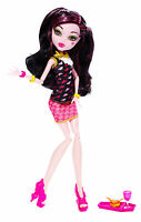 Monster High Draculaura CREEPATERIA Monsterschüler Café OVP BJM19