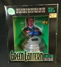 DC DIRECT GREEN LANTERN VILLAIN SINESTRO BUST W POWER RING PROP MIB 0414/ 1100