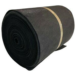 Activated Carbon Air Filter Media Roll Fabric Air Conditioning 760mm x 50m