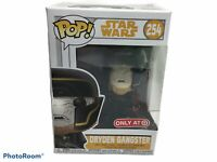 Funko POP! Star Wars #254 Dryden Gangster Target Exclusive W/Protector