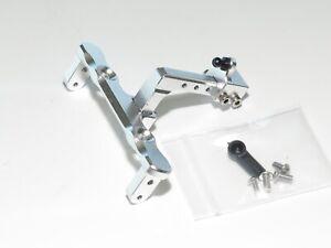 Yy-Madmax Axial SCX10 Aluminium Drop Remorque Attelage Argent