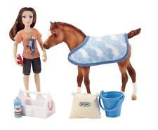 Breyer Classics Bath Time Fun Doll & Pony Activity Set (1:12 Scale)