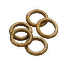 Natural horn Ring Perles Centre Trou 16 mm Pack de 5 (Q41/3)