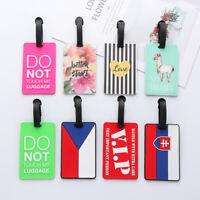 Handbag Pendant Luggage Tag ID Address Tags Suitcase Label Baggage Claim