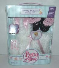 NEW 2007 Release Baby Alive Sunny Bunny Dress Up Set