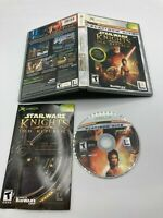 Microsoft Xbox CIB Complete Tested Star Wars: Knights of the Old Republic