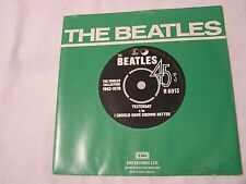 The Beatles 45 & Picture Sleeve from single collection-YESTERDAY/I SHOULD HAVE K