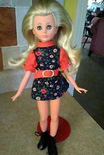 "Vintage 1965 15"" Vanessa Italocremona Doll 60's Outfit Blue Sleepy Eyes Blond"