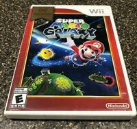 Super Mario Galaxy - Nintendo Wii 2007 - Clean & Tested Working - Free Ship