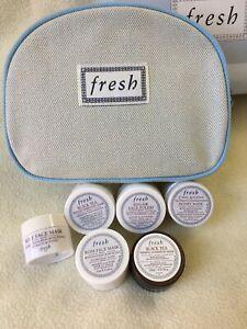 Fresh 6 Piece Skin Care Set - Masks Treatment. NEW . Include Purse