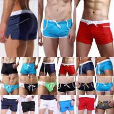 Herren Schwimm Shorts Badehose Sommer Strand Bademode Surfen Boxershorts Hosen