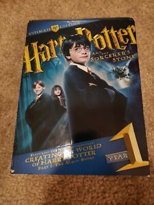 Harry Potter and the Sorcerers Stone (DVD, 2009, 4-Disc Set, WS Ultimate Edition