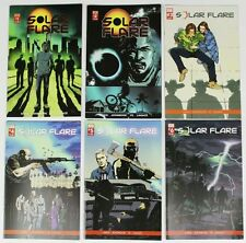 SOLAR FLARE SET - Issues #1-6 - Variant Covers - Signed - NM - Self Published!