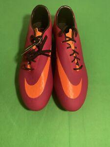 Nike Magenta & Orange Hyper Venom Phatal FG Soccer Cleats Women's 599076-585