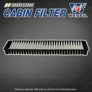 Wesfil Cabin Filter for Mini Cooper S Petrol R50 R52 R53 Refer RCA225C